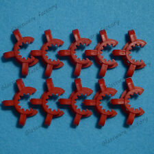 14# Lab Plastic Keck Clamp Clip for 14/23 or 14/20 Glass Joints 10PCS
