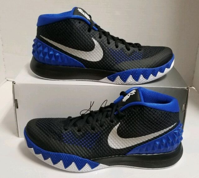 sports shoes a26e4 dbe87 Nike Kyrie 1 Brotherhood Duke Blue Devils Black Size 9 Genuine 705277-400