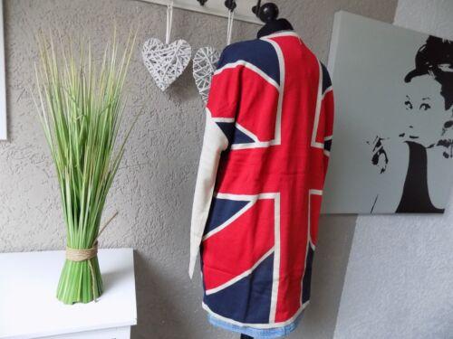 44//46 NEU Jacke Trendy lockere Feinstrick Strickjacke Print UK  Gr 85B