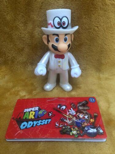 "Super Mario Odyssey Wedding Tuxedo Super Mario 5/"" Action Figure NEW /& SEALED"