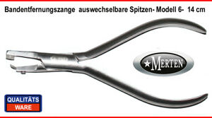 Bandentfernungs-Zange-auswechselbare-Schneide-Bracket-Band-Remover