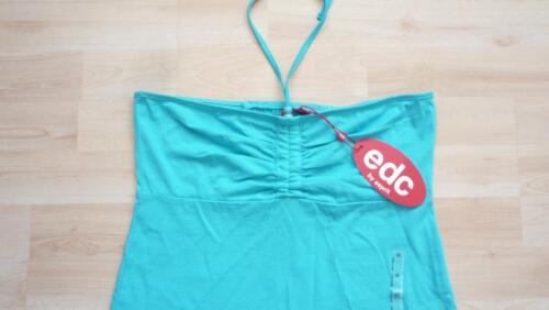 M S edc by ESPRIT  Top // Shirt   Gr L  2 Farben blau  gelb NEU