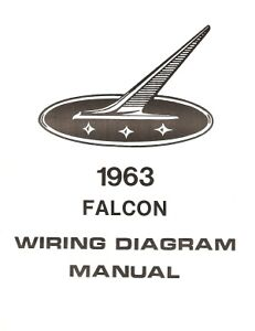 1963 ford falcon wiring diagram manual ebay image is loading 1963 ford falcon wiring diagram manual asfbconference2016 Images