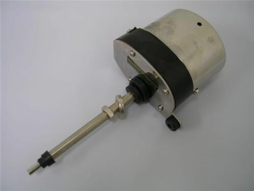 Universal Street Hot Rod Stainless Windshield Wiper Motor Ford Chevy Mopar Jeep