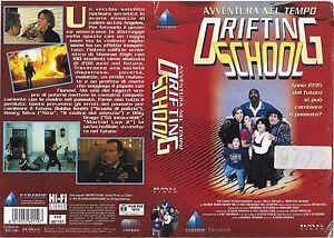 DRIFTING SCHOOL (1995) vhs ex noleggio - Italia - DRIFTING SCHOOL (1995) vhs ex noleggio - Italia