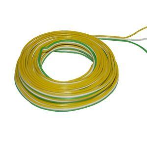 Ring-5m-Kupferlitze-3-x-0-14mm-isoliert-Kabel-Trix-gelb-weiss-gruen-860296