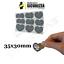 miniatuur 7 - Label etichette Scratch off modello gratta e vinci adesivi speciali da graffiare