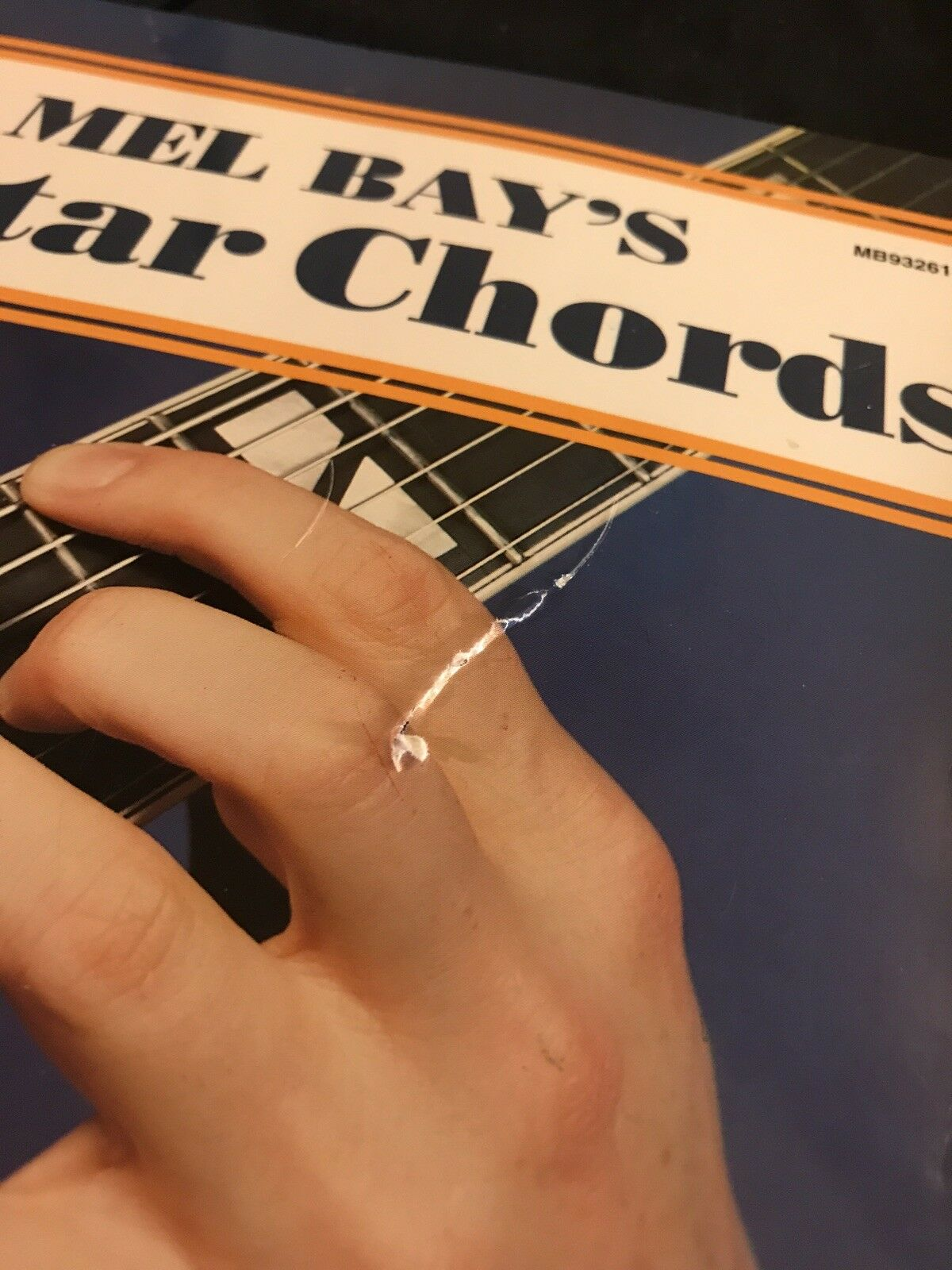 Guitar Chords By Mel Publications Inc Staff Bay 1959 Paperback