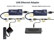 Alician Buffering Reducing LAN Ethernet Adapter for  FIRE TV 3 or Stick GEN 2 Accessories