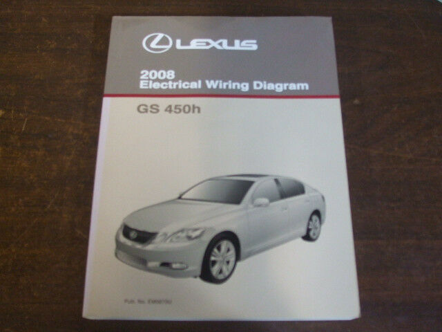 2008 Lexus Gs450h Gs 450h Electrical Wiring Diagram