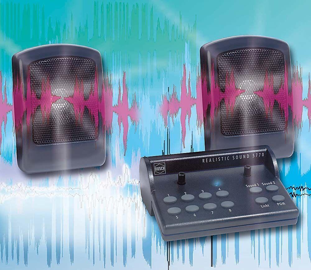 HS Busch 5770 realistic sound Universal Ferrovie e città