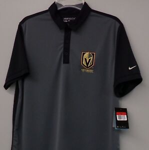 quality design 2f0e9 7b827 Details about Nike Golf Vegas Golden Knights NHL Embroidered Mens Polo  746101 XS-4XL New WT's