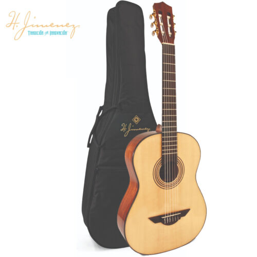 H Jimenez LG2 El Artista Classical Nylon String Acoustic Guitar Natural w// Bag