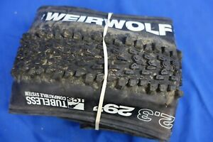 "WTB Weirwolf LT 29"" x 2.30"" Folding MTB Bike Tire - TCS/Tubeless Ready 29er"