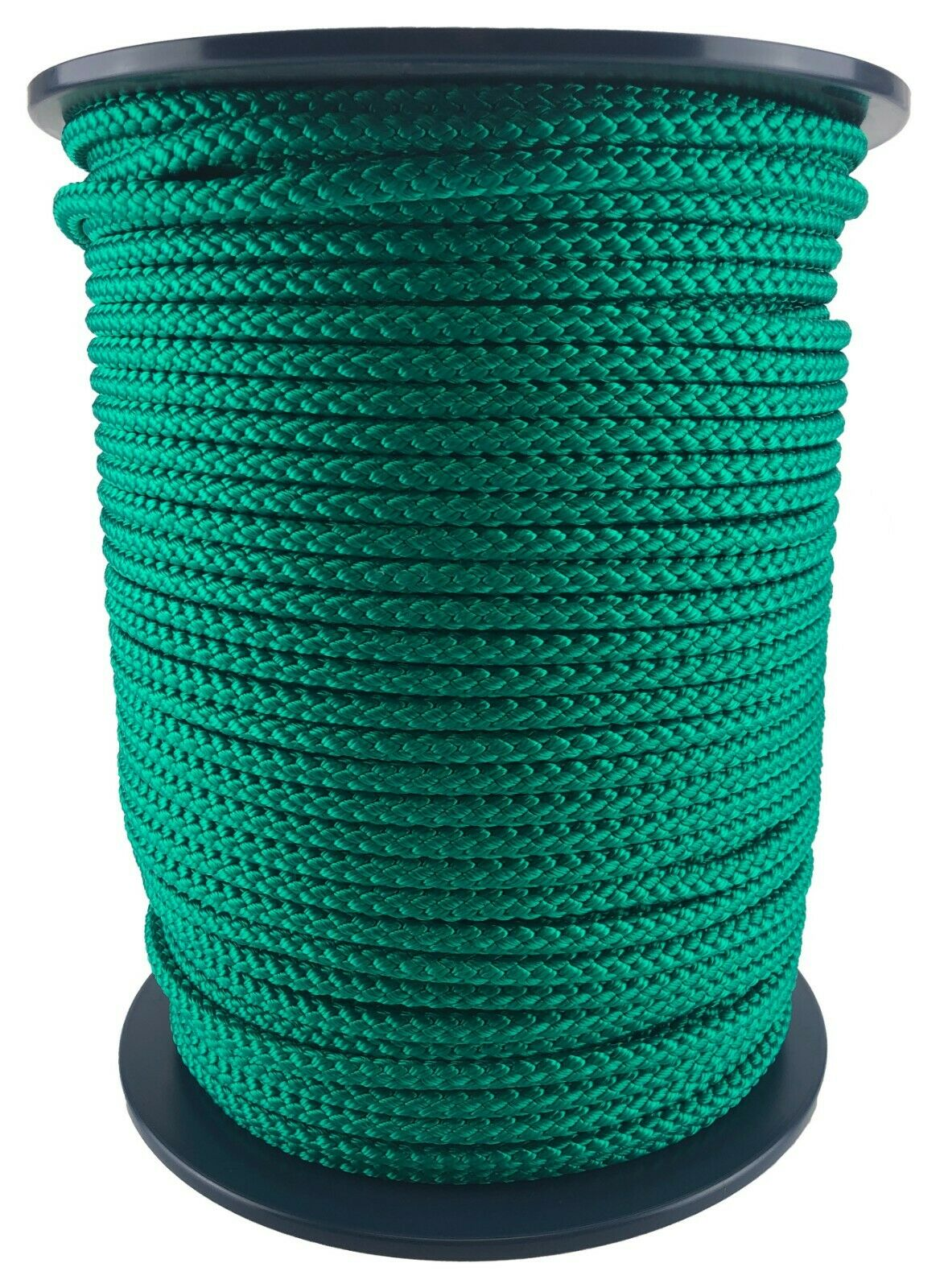 12mm Grün Geflochten Polypropylen Seil X 75 Meter Poly Line Segeln Stiefelfahren