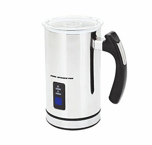Cool cuisine en acier inoxydable Appareil à faire mousser le lait - 8 oz (environ 226.79 g)