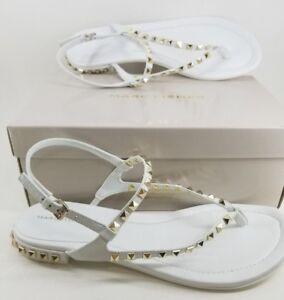 Gold Studded Flat Sandal Size 11 Flip