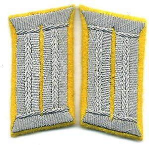 Repro WH Kragenspiegel Brigadeführer Collar Tabs