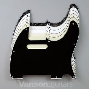 NEW Vanson 3ply Scratchplate for Squier Telecaster Tele ®* project Pickguard TC1