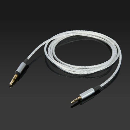 Silver Plated Audio Cable For klipsch reference on-ear over-ear headphone
