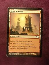 Great Furnace  VO  MTG PLAYED (see scan)