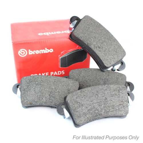 Audi A3 8P 1.6 19.7mm Thick Genuine Brembo Front Brake Pads Set