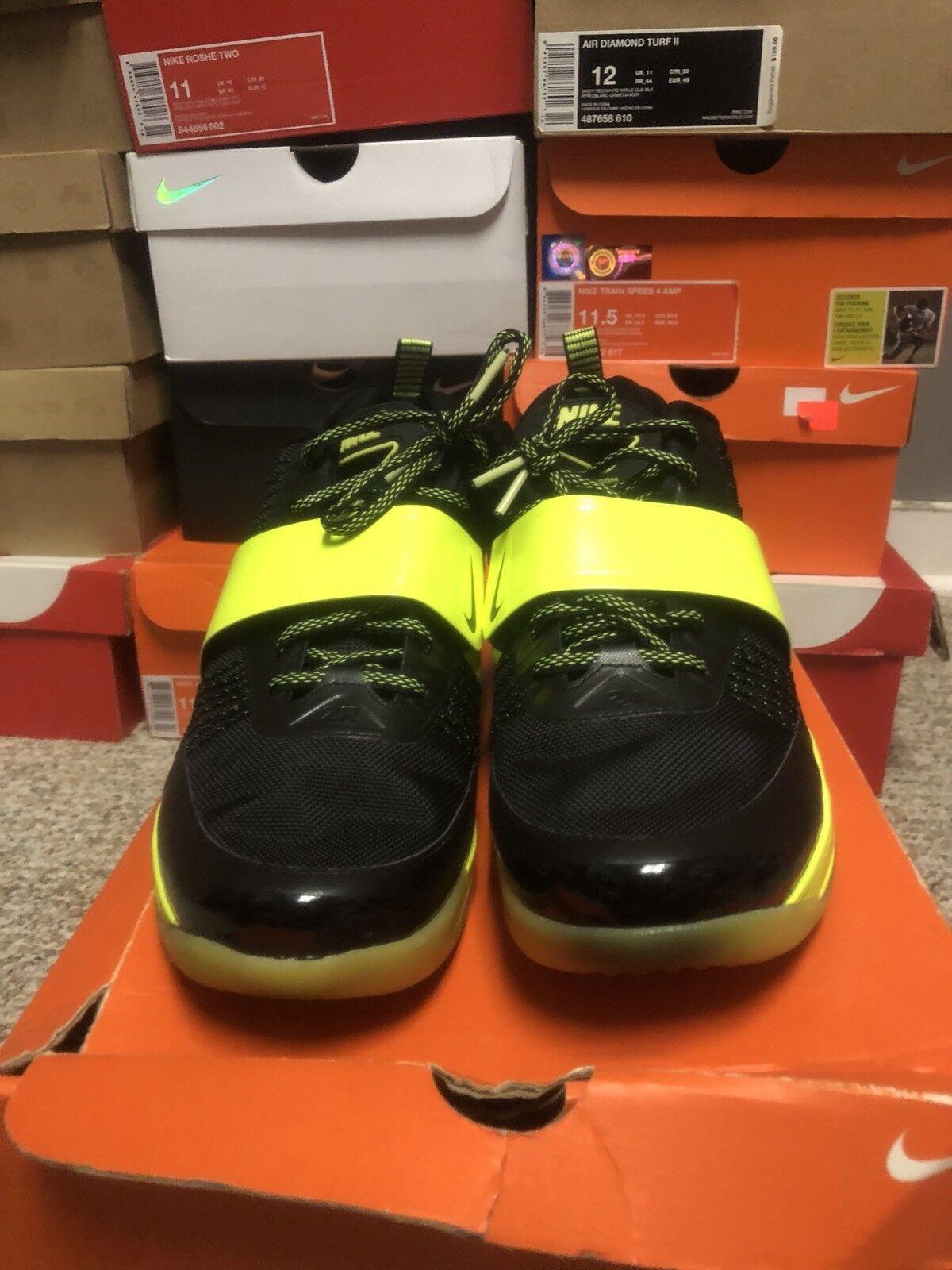Nike Zoom Revis Glow In The Dark Black Volt