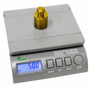 Postal-Scale-Digital-LCD-75-LB-x-0-5-OZ-8-5-034-x-7-034-Inch-Platform