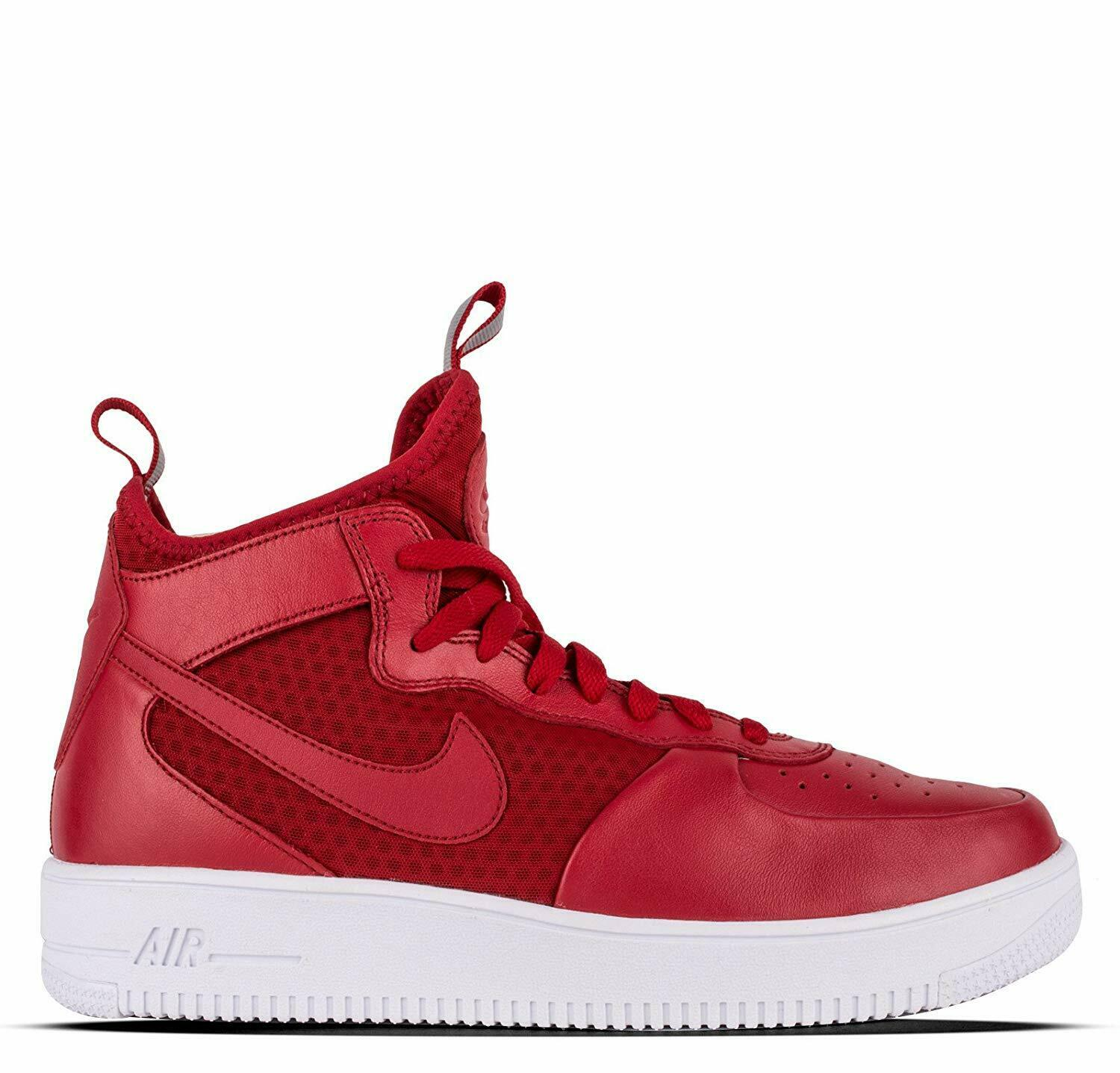 Nike Men's Air Force 1 Ultraforce Mid shoes Gym Red