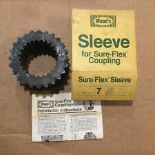 TB Wood/'s 5JN Neoprene SLEEVE for Size 5 SURE-FLEX Shaft Coupling