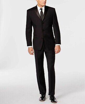 vasta gamma di acquista per ufficiale quantità limitata NWT CALVIN KLEIN Men's Black Wool Slim Fit Tuxedo Blazer Smoking ...