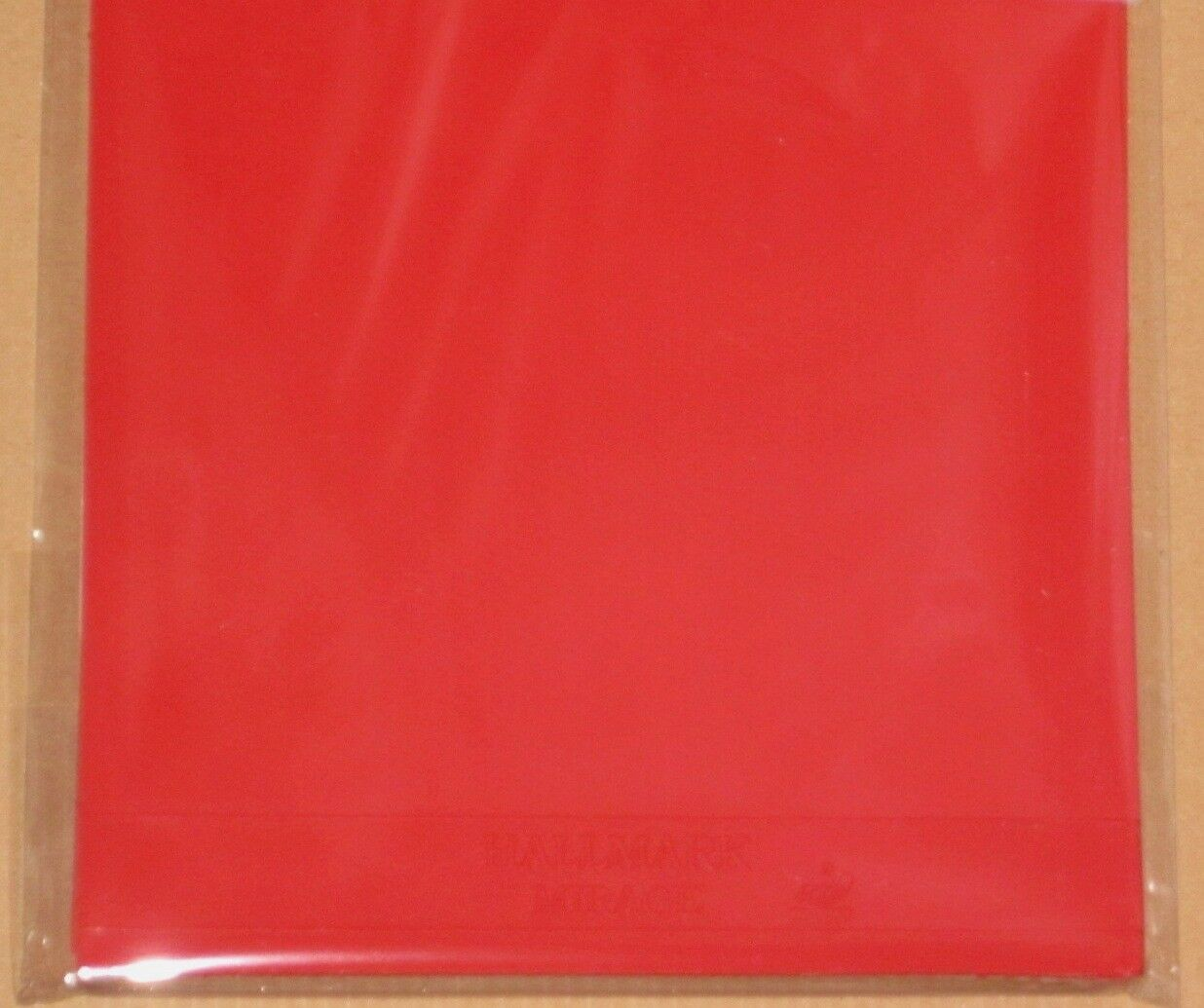 NEU Hallmark Mirage 2,0 2,0 2,0 mm rot Antitop Anti Spin rubber Antispin Tischtennis top b3fd8a