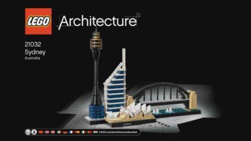 21032 1 nouvelles de recette//Instruction architecture Sydney