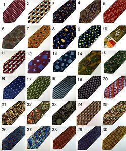 Mens-Italian-100-Silk-Ties-Various-Designs