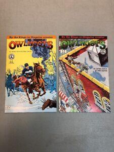 Owlhoots-1-amp-2-Complete-Set-Kitchen-Sink-Comix-Comics-James-Vance-John-Garcia