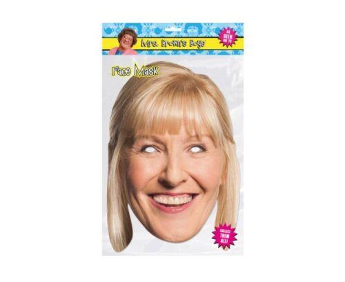 Official Mrs Browns Boys Cathy Dermot Buster Fancy Dress TV celebrity face mask