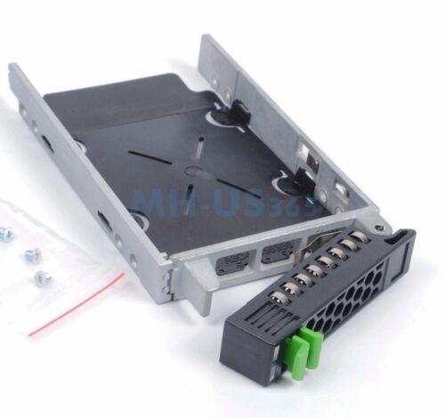"Hot Plug SAS SATA 2.5/"" Hard Drive Tray Caddy S5 S6 S7 S8 A3C40101974 For Fujitsu"
