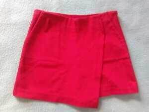 399180964 Detalles de Falda pantalón mujer Zara rojo XS nuevo