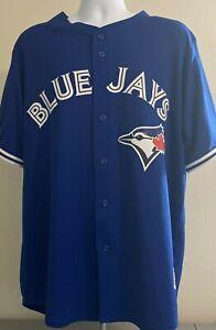 Toronto Blue Jays Josh Donaldson Majestic MLB Blue Cool Base Jersey Men's XL
