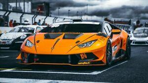 Lamborghini-Aventador-in-Race-Auto-Car-Art-Silk-Wall-Poster-Print-24x36-034