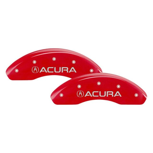 For Acura TSX 09-14 Caliper Covers Gloss Red Caliper