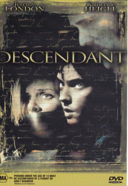 DESCENDANT Jeremy London DVD R4 PAL New