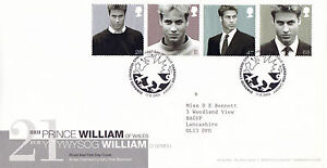 17 JUNE 2003 PRINCE WILLIAM 21st BIRTHDAY ROYAL MAIL FIRST DAY COVER CARDIFF SHS - Weston Super Mare, Somerset, United Kingdom - 17 JUNE 2003 PRINCE WILLIAM 21st BIRTHDAY ROYAL MAIL FIRST DAY COVER CARDIFF SHS - Weston Super Mare, Somerset, United Kingdom