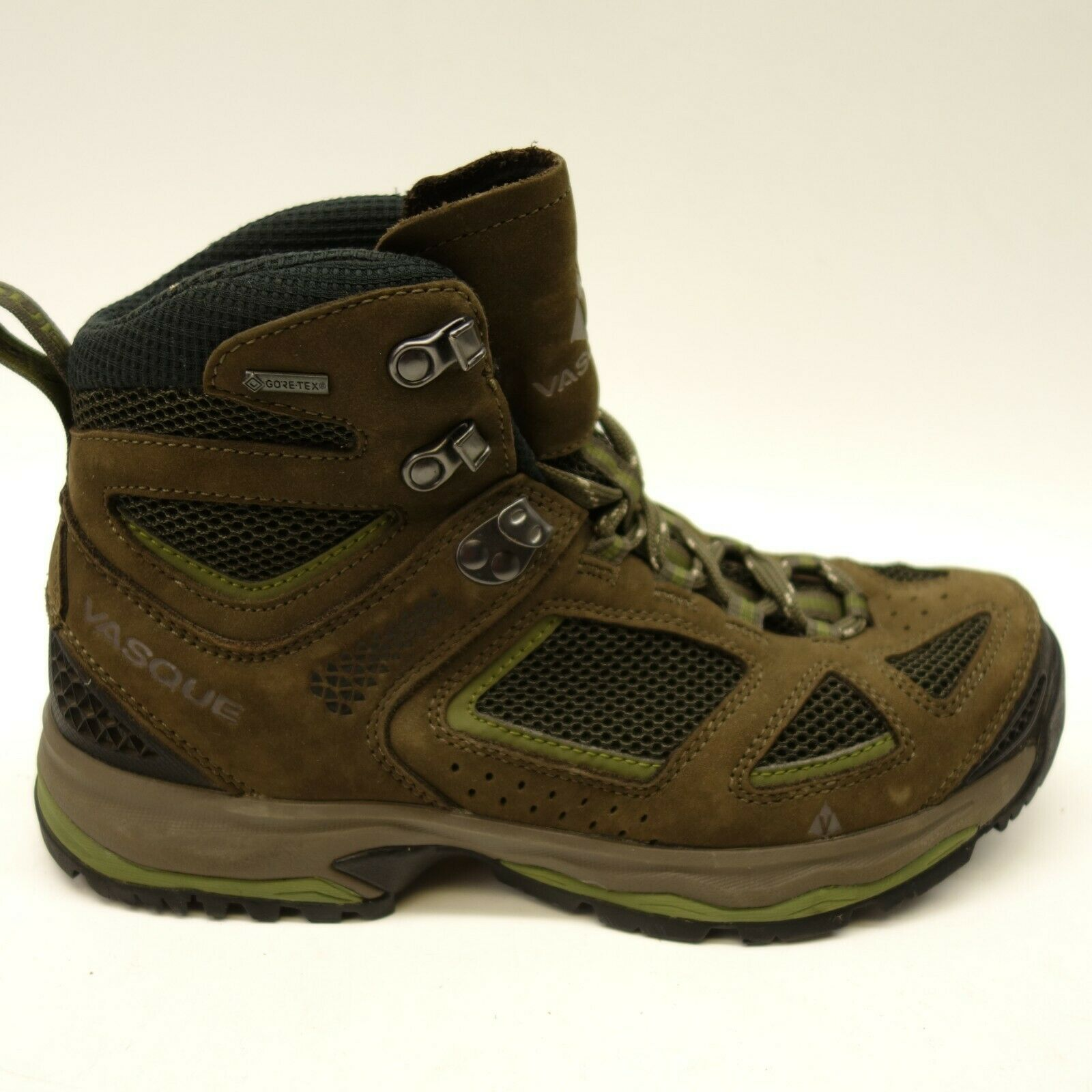 New Vasque Mens Breeze III Mid GTX Waterproof Athletic Hiking Boots Size 7.5