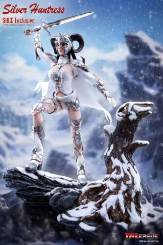 environ 30.48 cm Scale Female Toys Phicen//TBLeague Hot Silver Huntress Costume Blanc Pour 1//6 12 in