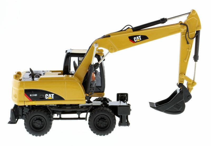 Dm 1 50 Cat M316D rueda Excavadora Vehículo de construcción modelo de 85171 núcleos Classics