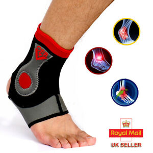 Ankle-Support-Compression-Strap-Achilles-Tendon-MMA-Foot-Brace-Sprain-Protect-HG