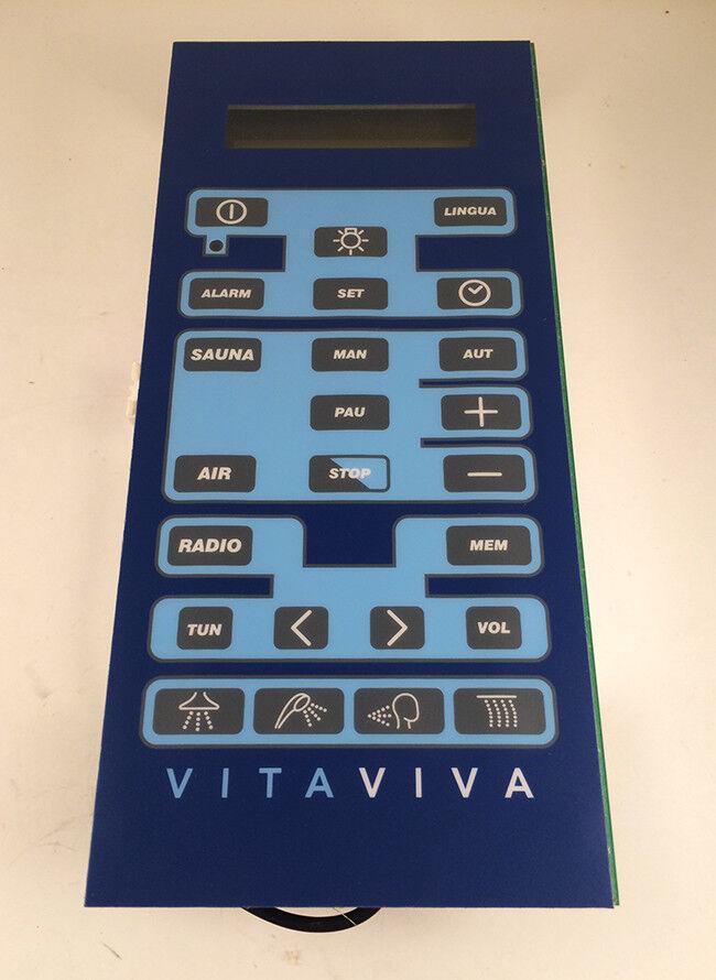 Remplacement clavier complet cabine de douche VITAVIVA - VILLEROY ET BOCH 497702