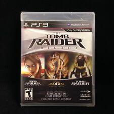 The Tomb Raider Trilogy (PlayStation 3) Brand New / Region Free