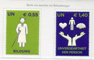 19499-UNITED-NATIONS-Vienna-2008-MNH-Rights-for-disabled